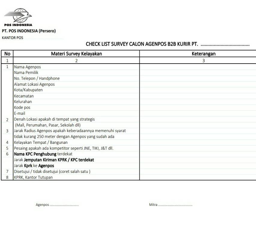 Agenpos Jasa Pengiriman Surat Dan Paket